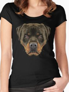 Rottweiler Women's Fitted Scoop T-Shirt