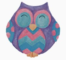 Noodle the cute cheeky owl Kids Tee