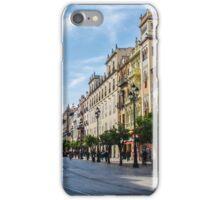 Avenida Constitucion - Seville Spain iPhone Case/Skin