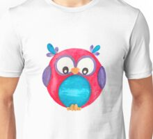 Pipsie the cute little owl Unisex T-Shirt