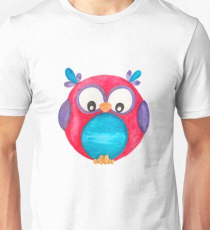 Pipsie the cute little owl Unisex T-Shirt