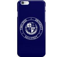Gallifrey University iPhone Case/Skin