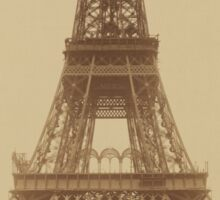 The Eiffel Tower: State of the Construction (Nov. 23, 1888) Sticker