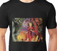 Woman and Demon vintage Comic Pop Art Unisex T-Shirt
