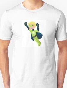 Cute little superhero boy support recycling Unisex T-Shirt