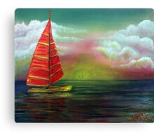 Sail The Horizon Canvas Print