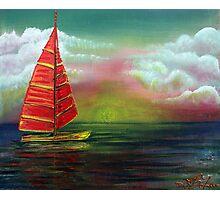 Sail The Horizon Photographic Print