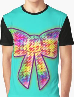 psychedelic bow Graphic T-Shirt