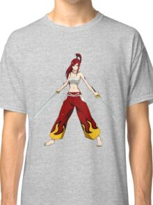 Erza Fairy Tail Hakama Armor Classic T-Shirt