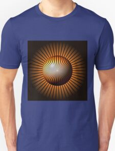 Abstract Brown Globe Unisex T-Shirt
