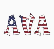 Ava (USA) Kids Tee