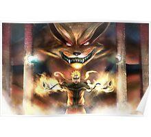 Naruto & Kurama Poster