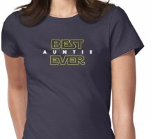 Best Auntie Ever Womens Fitted T-Shirt