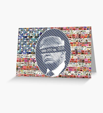 God Save the Stars and Stripes Greeting Card