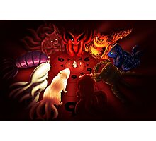 Tailed Beasts Photographic Print