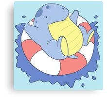 Swimming Swimming Swimming~! Canvas Print
