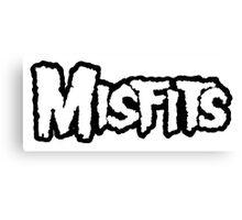 Misfit Name Canvas Print