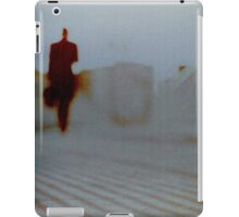 Man walking in city analog 35mm Lomo Smena vintage photo iPad Case/Skin