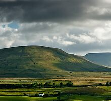Ingleborough, A Different View by Sue Knowles