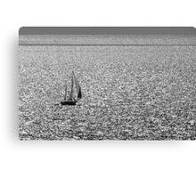 Setting sail. Canvas Print