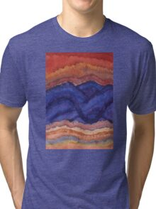 Painted High Desert original painting Tri-blend T-Shirt