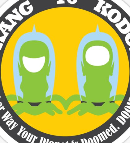 Vote Kang - Kodos '16 — Sticker Sticker