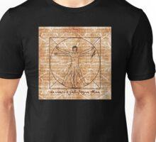 da vinci's Gallifreyan Man Unisex T-Shirt