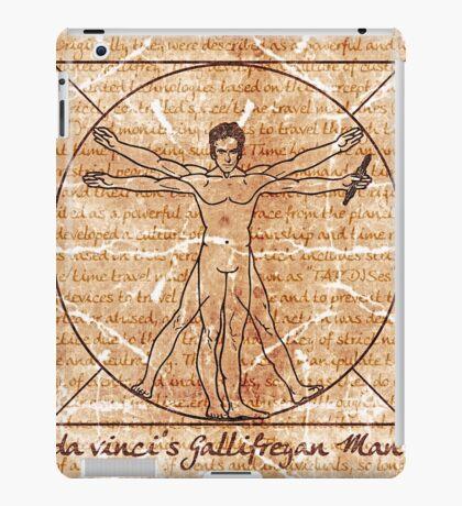 da vinci's Gallifreyan Man iPad Case/Skin