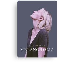 melancholia | alternative movie poster Canvas Print