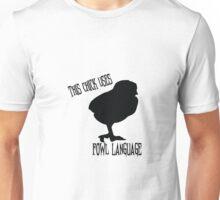 Use of Fowl Language Unisex T-Shirt