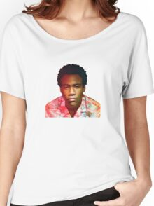 Childish Gambino's Because The Internet album cover Women's Relaxed Fit T-Shirt