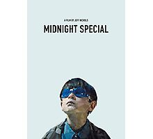midnight special   alternative movie poster Photographic Print