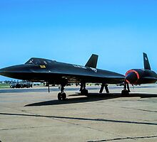 """Lockheed SR-71A 64-17974 """"Blackbird"""" by Colin Smedley"""