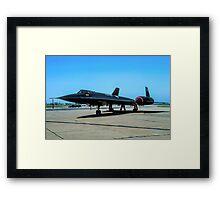 "Lockheed SR-71A 64-17974 ""Blackbird"" Framed Print"