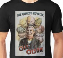 Performing Arts Posters The comedy novelty Ole Olson 0689 Unisex T-Shirt
