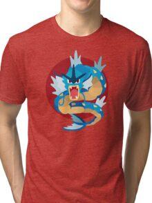 Gyarados - Basic Tri-blend T-Shirt