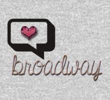 Love Broadway? One Piece - Long Sleeve