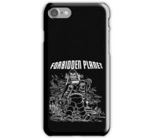 Forbidden Planet Black and White iPhone Case/Skin