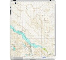 USGS TOPO Map Arizona AZ Parker Dam 314877 1959 62500 iPad Case/Skin