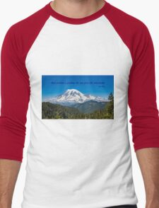 A Glorious Mountain Men's Baseball ¾ T-Shirt