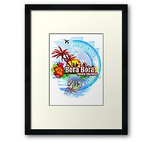 Bora Bora Polynesia Framed Print