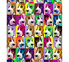 Basset collage by pateabag