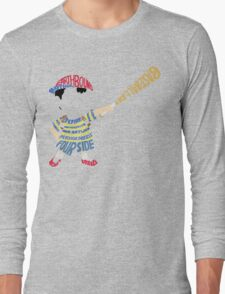Ness Typography Long Sleeve T-Shirt