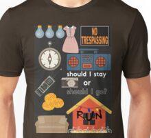 Stranger Things minimalist poster Unisex T-Shirt
