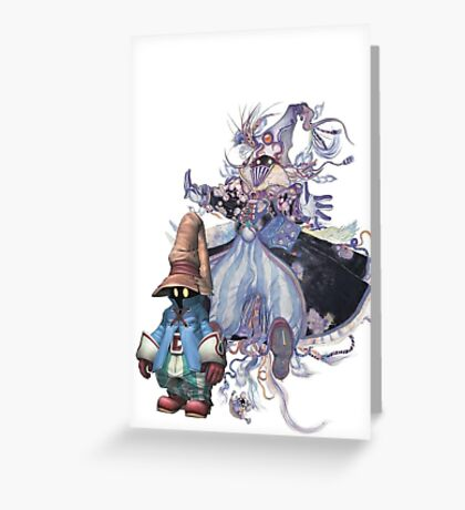 Vivi Master Greeting Card