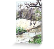 Innot Hot Springs Greeting Card