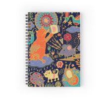 Cat and Mouse Spiral Notebook