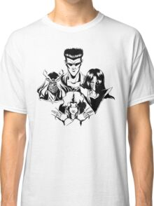March of the Toguro Team (Black & White) Classic T-Shirt