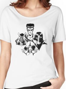 March of the Toguro Team (Black & White) Women's Relaxed Fit T-Shirt