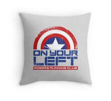 """On Your Left"" Version 01 Throw Pillow"